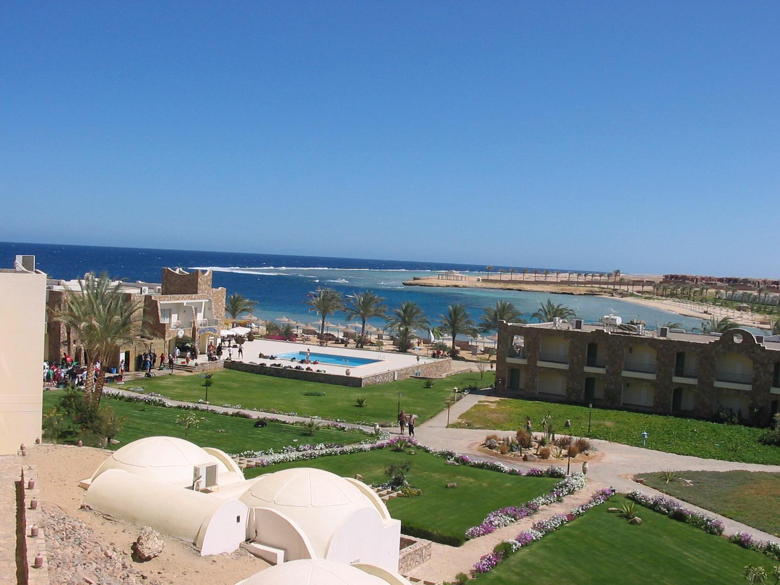 Hotelressort an eigener Bucht in Ägypten