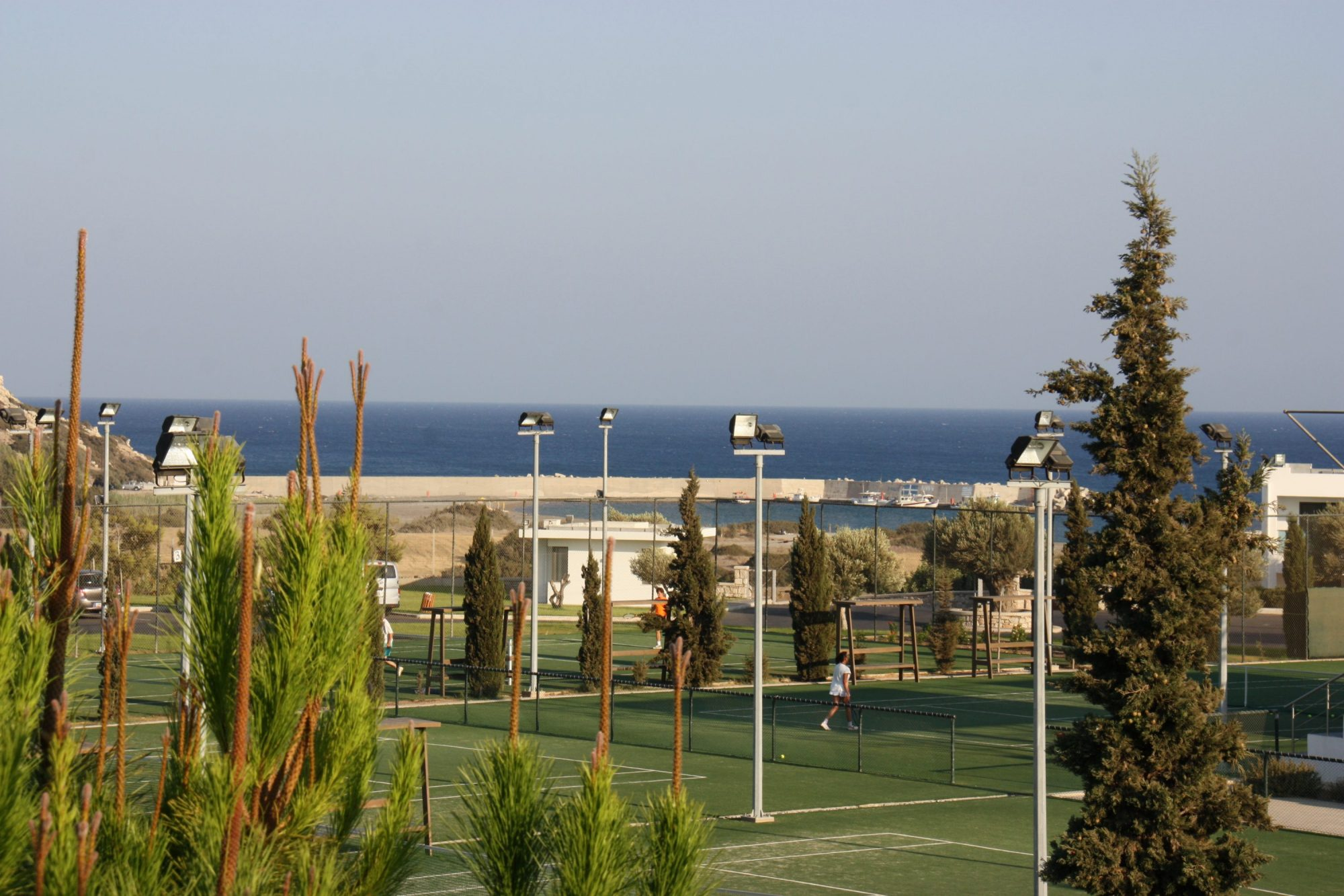 Tennisplätze im TUI MAGIC LIFE Plimmiri