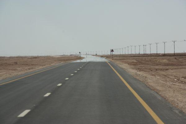 Straßen durch die Wüste
