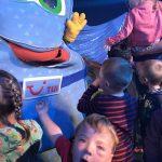 Kinderdisco mit Trolley