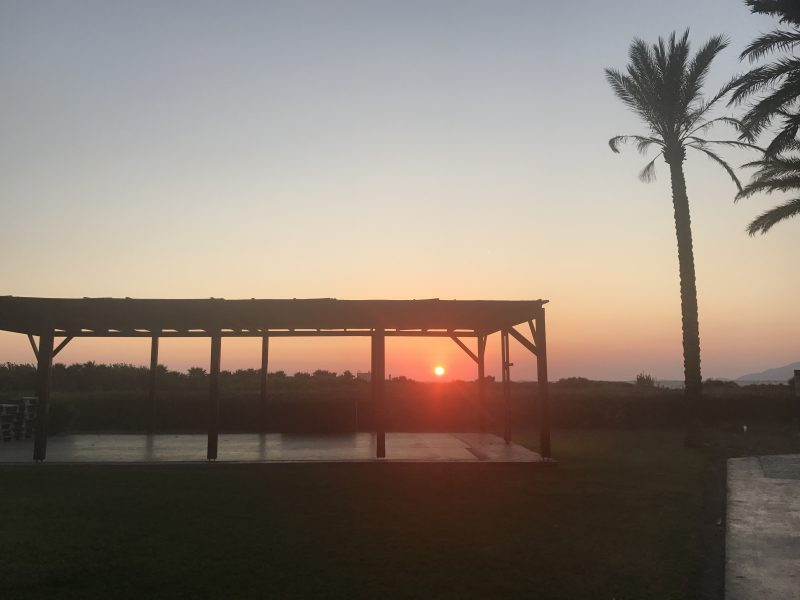 Sonnenuntergang im Grecotel Best Family Royal Park auf Kos