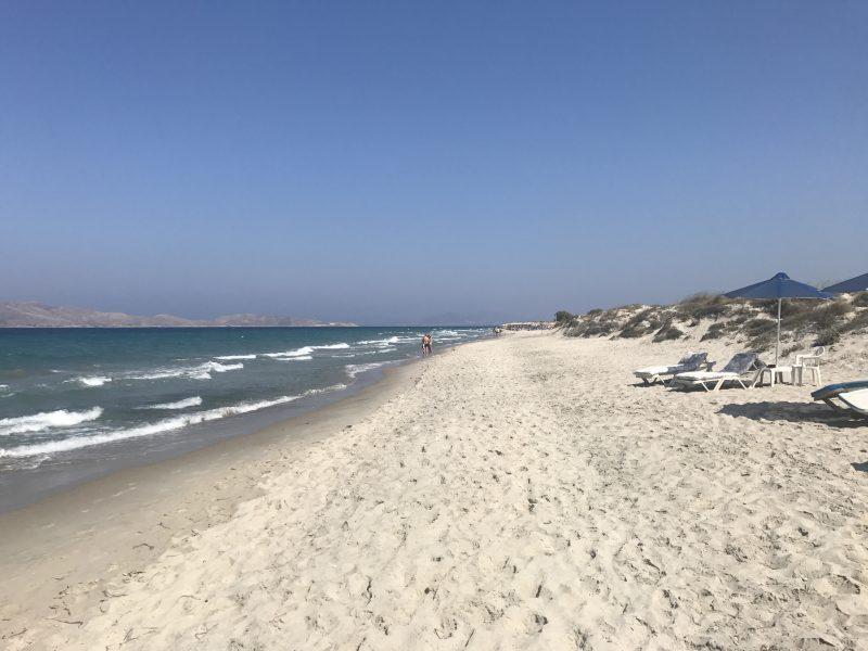 Sandstrand auf Kos